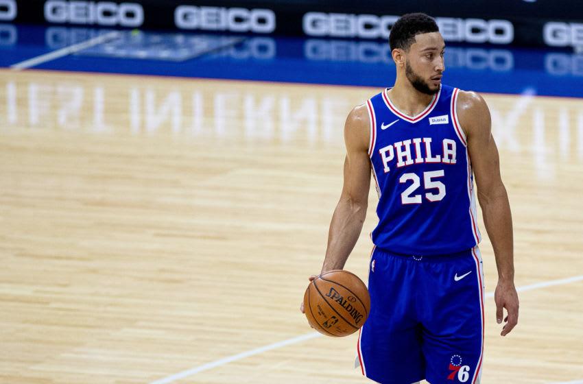 Philadelphia 76ers Ben Simmons (Bill Streicher-USA TODAY Sports)