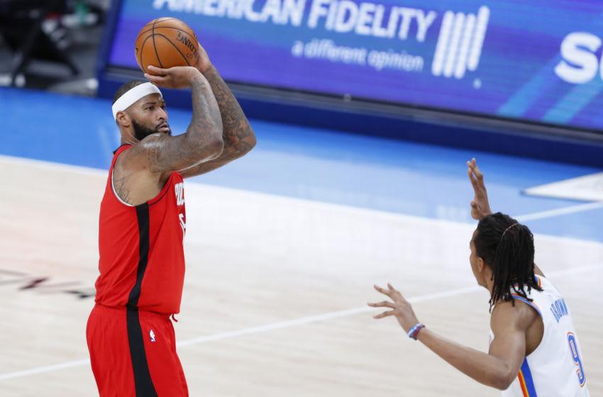 NBA Houston Rockets DeMarcus Cousins (Alonzo Adams-USA TODAY Sports)