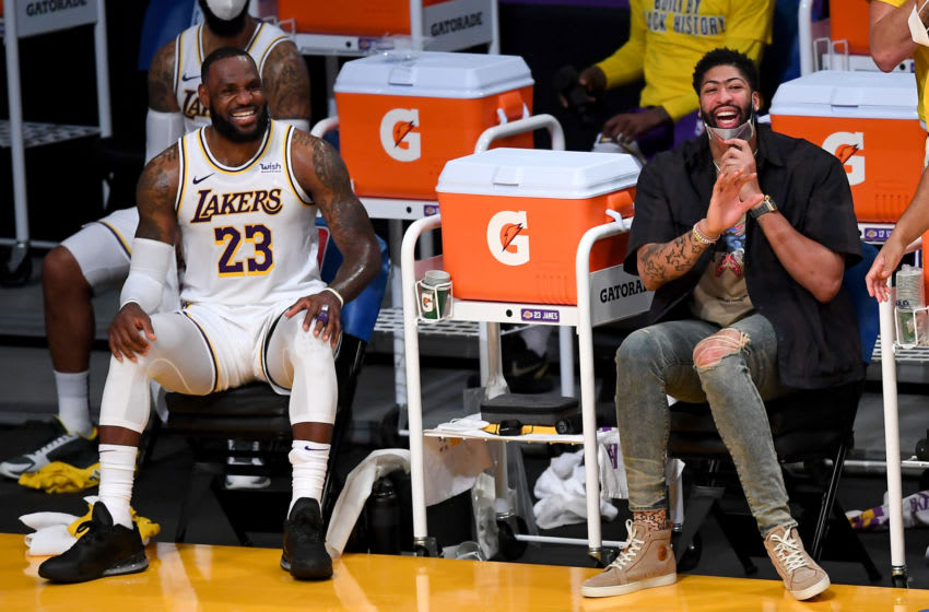 Los Angeles Lakers LeBron James and Anthony Davis (Jayne Kamin-Oncea-USA TODAY Sports)