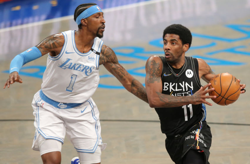 Brooklyn Nets Kyrie Irving (Brad Penner-USA TODAY Sports)