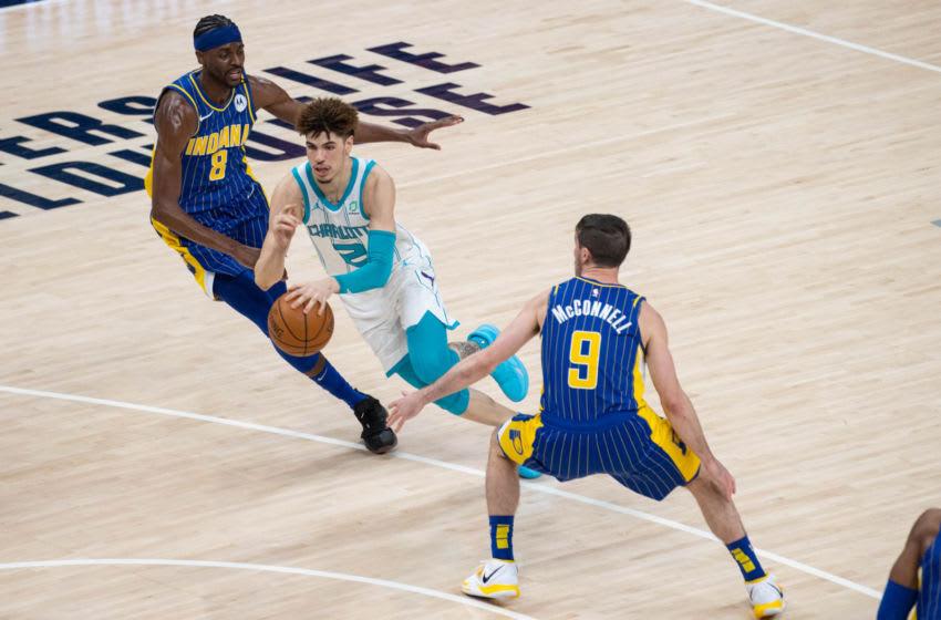 NBA Charlotte Hornets LaMelo Ball (Trevor Ruszkowski-USA TODAY Sports)