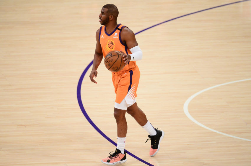 Phoenix Suns Chris Paul (Gary A. Vasquez-USA TODAY Sports)