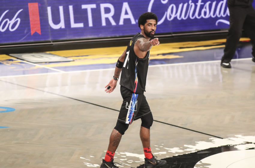 Brooklyn Nets Kyrie Irving (Wendell Cruz-USA TODAY Sports)