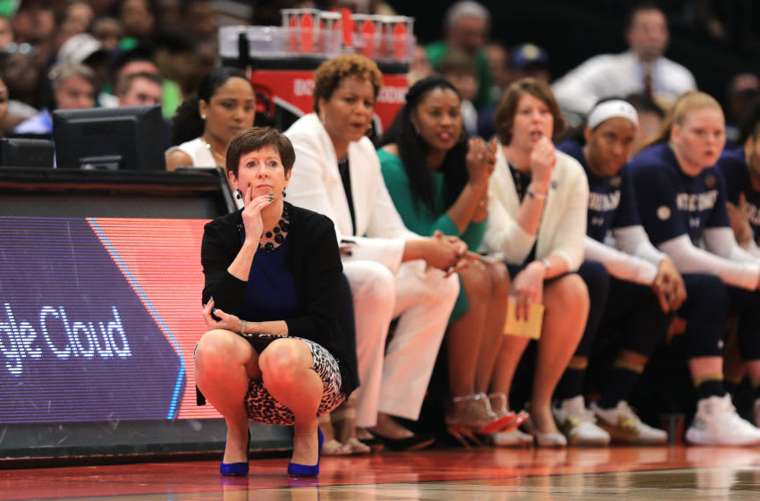 Muffet McGraw (Photo by Mike Ehrmann/Getty Images)