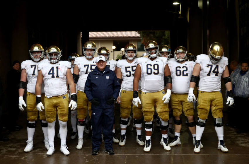 Notre Dame football (Photo by Ezra Shaw/Getty Images)