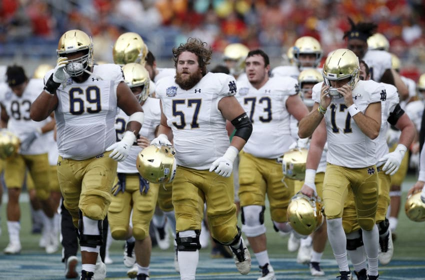 Notre Dame football (Photo by Joe Robbins/Getty Images)