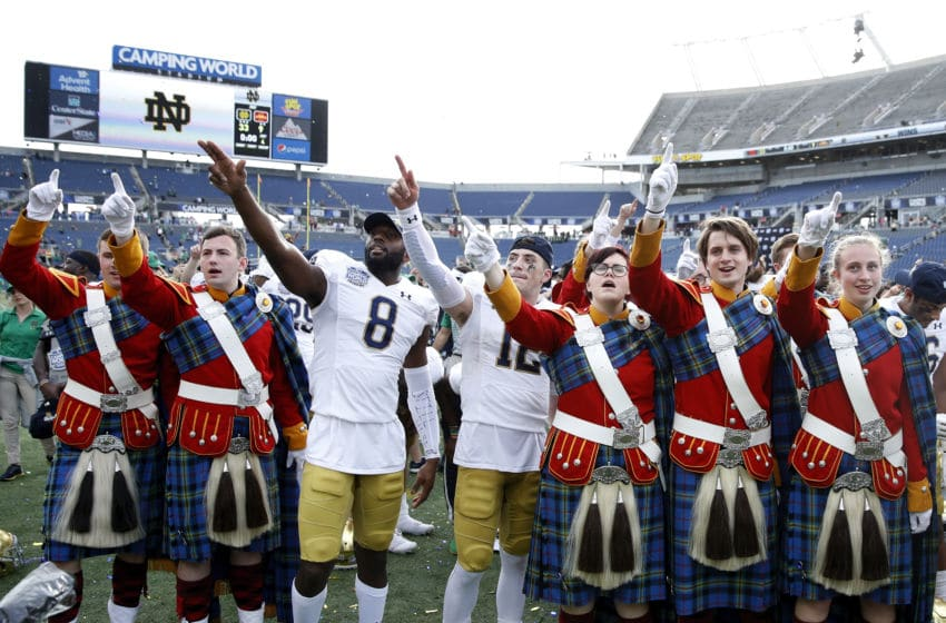 Notre Dame football(Photo by Joe Robbins/Getty Images)