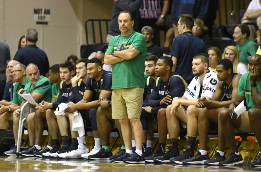 Mike Brey Maui Invitational (Photo by Mitchell Layton/Getty Images)