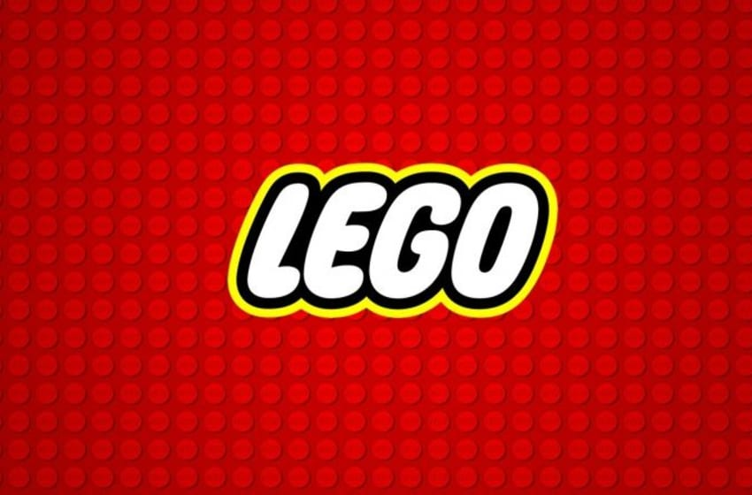 Lego Logo on top of bricks. Photo Credit: Lego