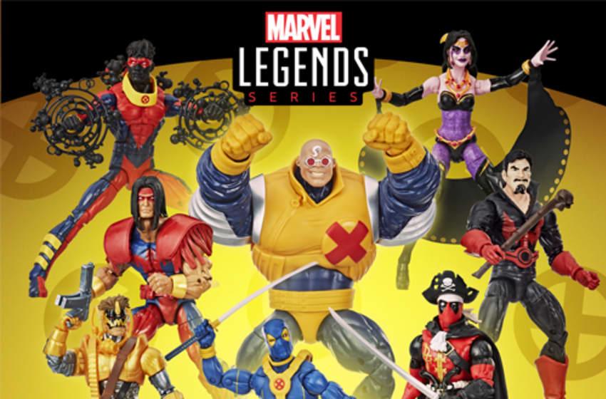 Deadpool Marvel Legends Banner. Photo Credit: Entertainment Earth