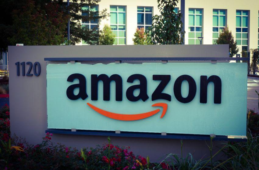 Amazon corporate office building in Sunnyvale, California