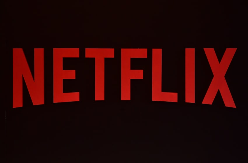 The Netflix logo is pictured during a Netflix event on March 1, 2017 in Berlin. / AFP PHOTO / John MACDOUGALL (Photo credit should read JOHN MACDOUGALL/AFP/Getty Images)