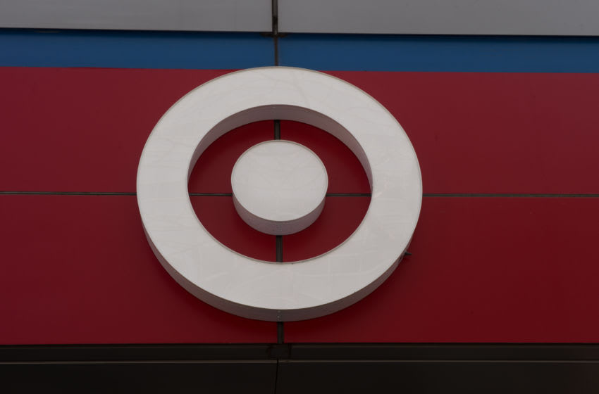 The Target logo is seen outside a store on April 10, 2017 in New York. / AFP PHOTO / Bryan R. Smith (Photo credit should read BRYAN R. SMITH/AFP/Getty Images)