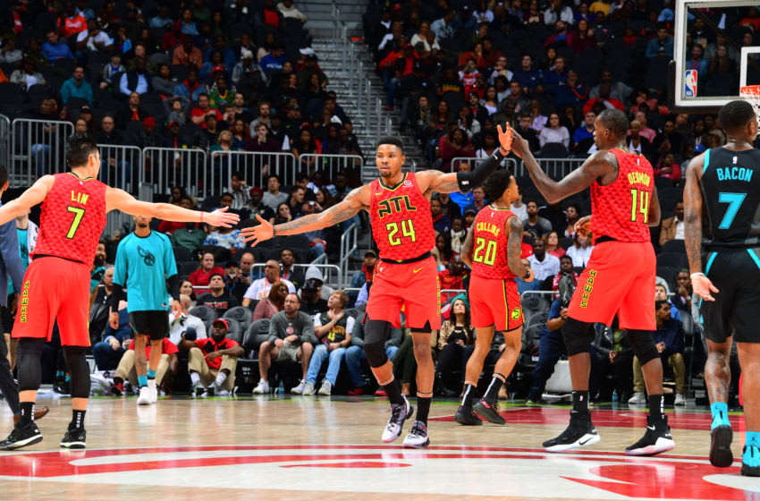 Kent Bazemore the Atlanta Hawks (Photo by Scott Cunningham/NBAE via Getty Images)
