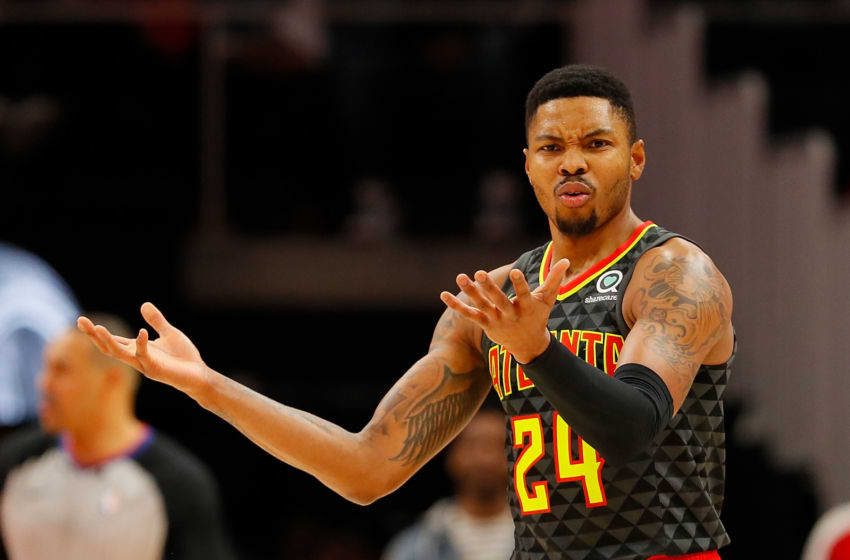 Kent Bazemore #24 of the Atlanta Hawks (Photo by Kevin C. Cox/Getty Images)