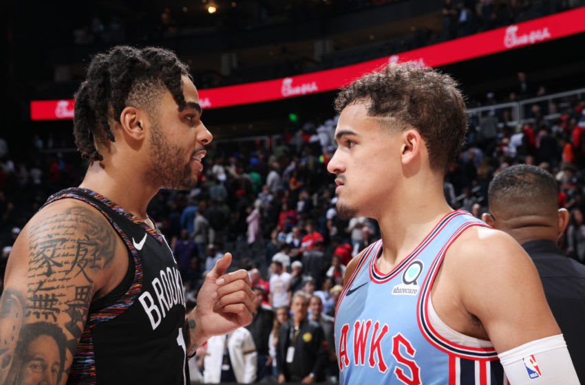 Trae Young #11 of the Atlanta Hawks (Photo by Jasear Thompson/NBAE via Getty Images)