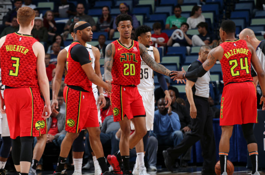 John Collins #20 Atlanta Hawks (Photo by Layne Murdoch Jr./NBAE via Getty Images)
