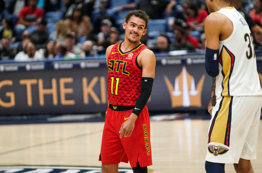 Trae Young #11 of the Atlanta Hawks (Photo by Cassy Athena/Getty Images)