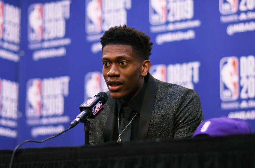 De'Andre Hunter Atlanta Hawks 2019 NBA Draft (Photo by Stephen Pellegrino/NBAE via Getty Images)
