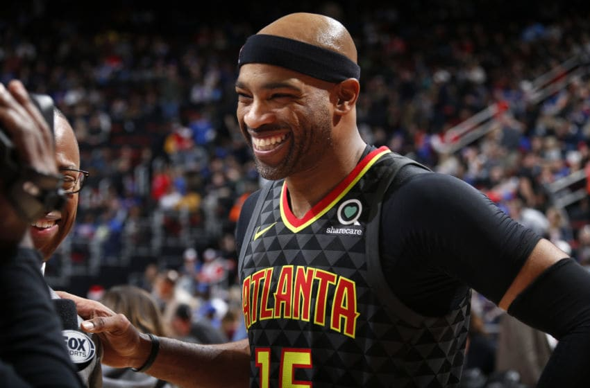 Vince Carter Atlanta Hawks (Photo by Brian Sevald/NBAE via Getty Images)