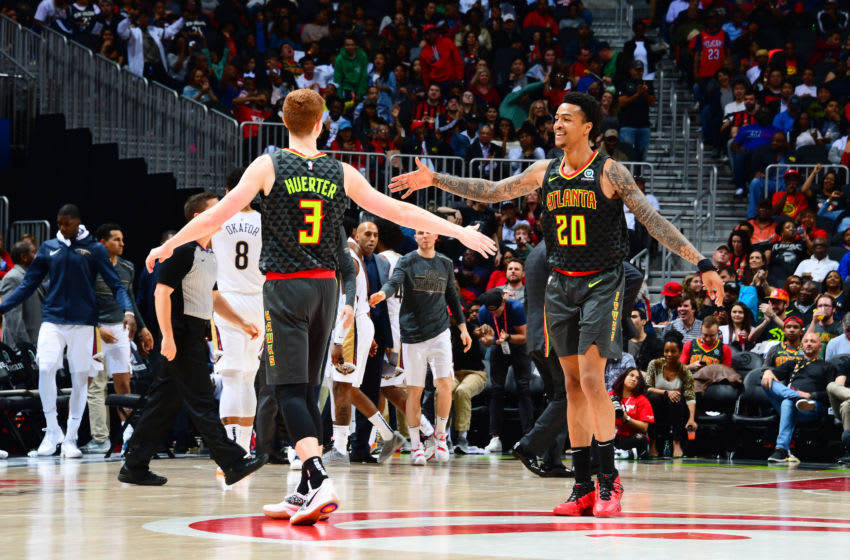 The Atlanta Hawks (Photo by Scott Cunningham/NBAE via Getty Images)