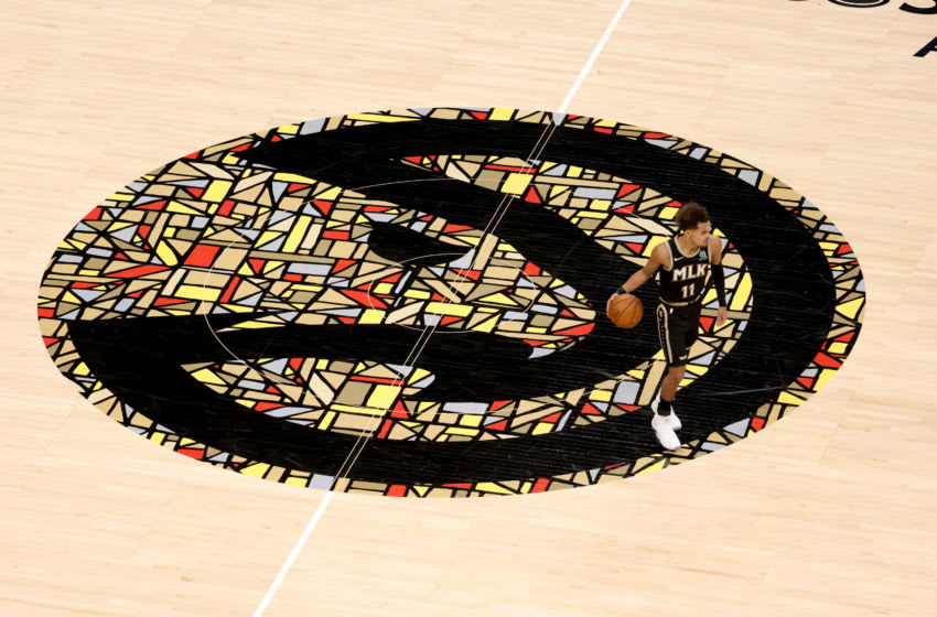 Atlanta Hawks. Mandatory Credit: Jason Getz-USA TODAY Sports