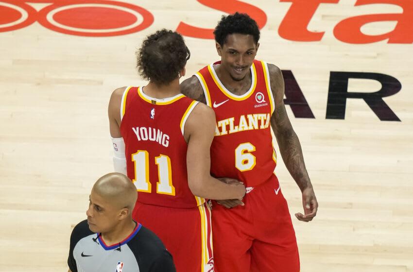 Atlanta Hawks. Mandatory Credit: Dale Zanine-USA TODAY Sports