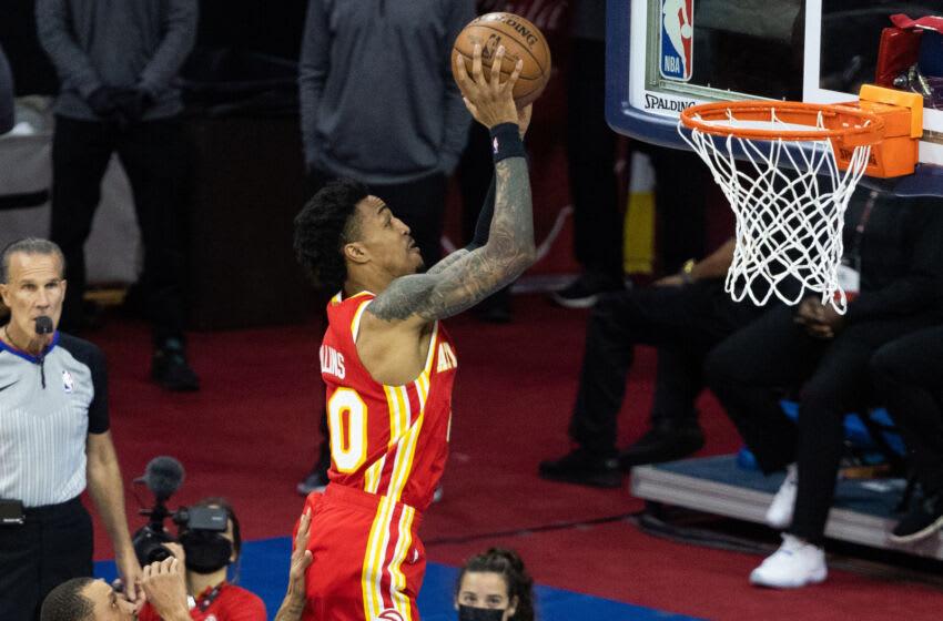 Atlanta Hawks. Mandatory Credit: Bill Streicher-USA TODAY Sports
