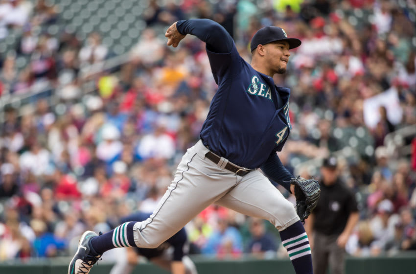 MINNEAPOLIS, MN- SEPTEMBER 25: Taijuan Walker #44 of the Seattle Mariners pitches against the Minnesota Twins on September 25, 2016 at Target Field in Minneapolis, Minnesota. The Mariners defeated the Twins 4-3. (Photo by Brace Hemmelgarn/Minnesota Twins/Getty Images)