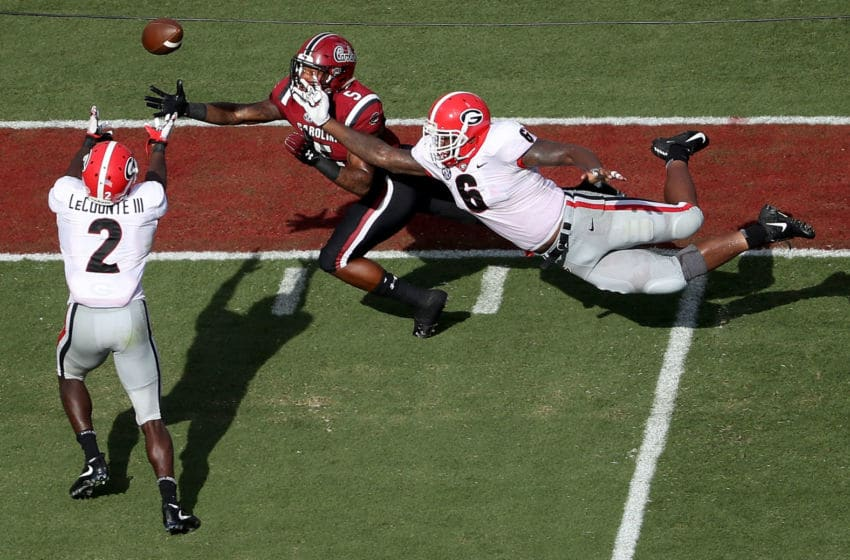 Georgia football v South Carolina (Photo by Streeter Lecka/Getty Images)
