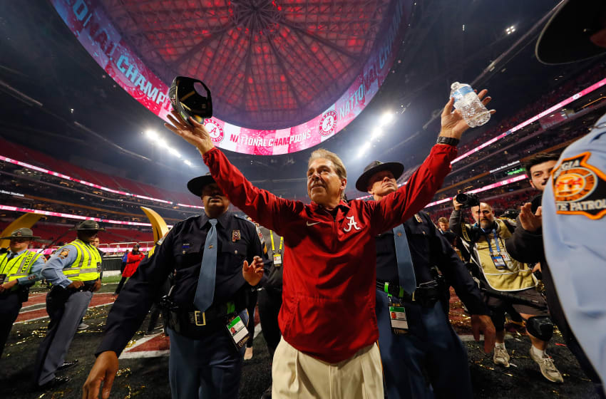 Alabama football head coach Nick Saban (Photo by Kevin C. Cox/Getty Images)