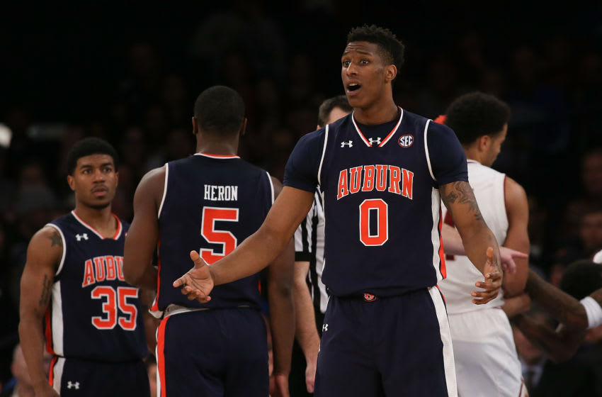 NEW YORK, NY - DECEMBER 12: Horace Spencer Auburn basketball (Photo by Michael Reaves/Getty Images)
