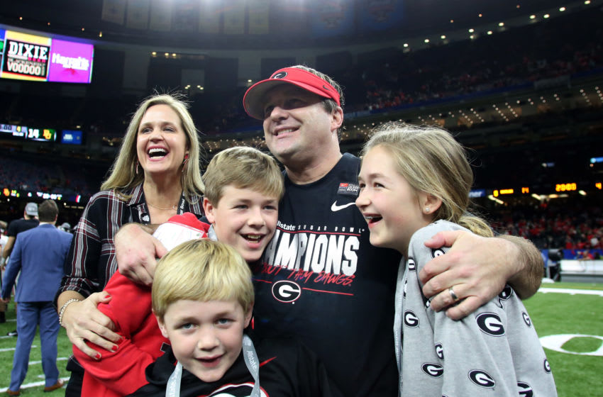 Head coach Kirby Smart of the Georgia Bulldogs(Photo by Marianna Massey/Getty Images)
