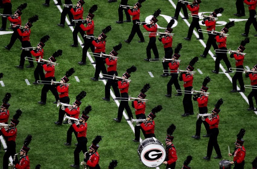 The Georgia Redcoat Marching Band (Photo by Marianna Massey/Getty Images)
