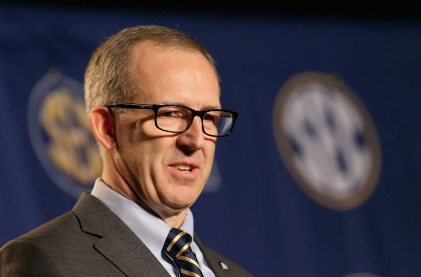Greg Sankey, commissioner of the SEC (Photo by Andy Lyons/Getty Images)
