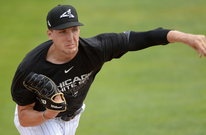 Chicago White Sox pitcher Garrett Crochet. (Photo by Ron Vesely/Getty Images)