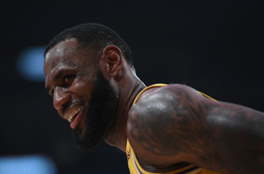 LeBron James #23 of the Los Angeles Lakers (Photo by Harry How/Getty Images)