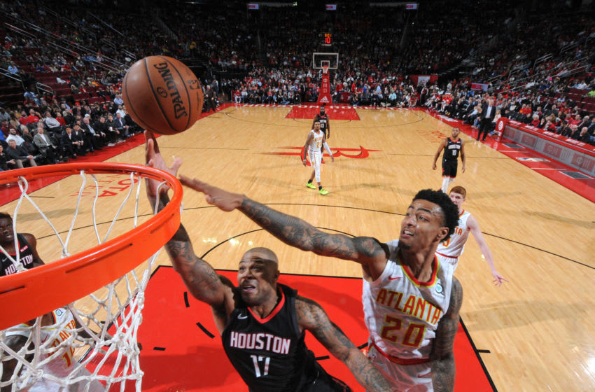 Houston Rockets John Collins (Photo by Bill Baptist/NBAE via Getty Images)