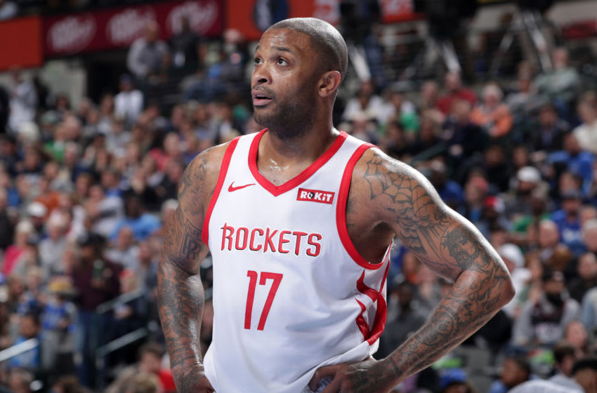 PJ Tucker #17 of the Houston Rockets (Photo by Glenn James/NBAE via Getty Images)