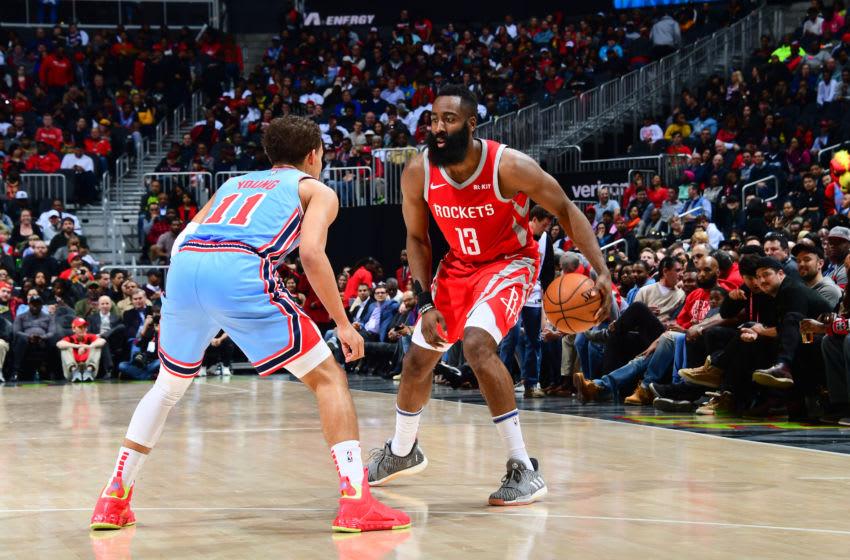 Houston Rockets James Harden (Photo by Scott Cunningham/NBAE via Getty Images)