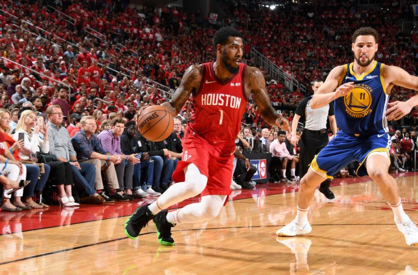 Houston Rockets Iman Shumpert (Photo by Andrew D. Bernstein/NBAE via Getty Images)
