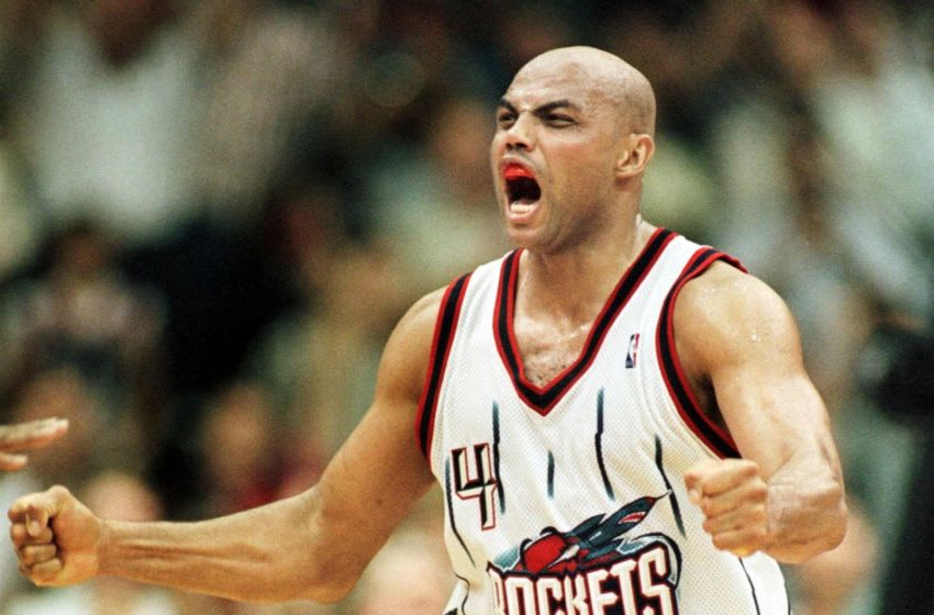 Houston Rockets Charles Barkley AFP PHOTO PAUL BUCK (Photo by PAUL BUCK / AFP) (Photo credit should read PAUL BUCK/AFP via Getty Images)
