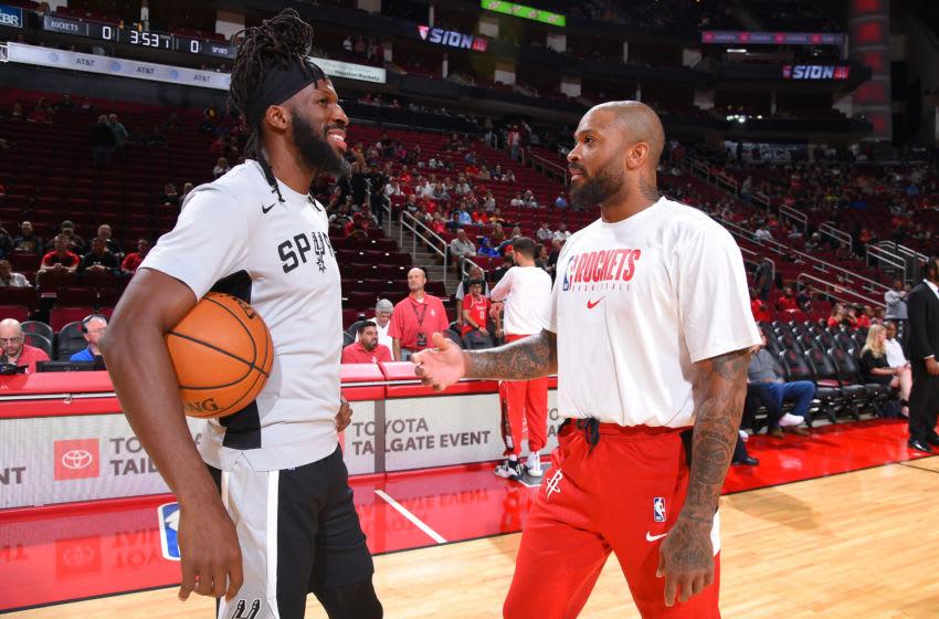 San Antonio Spurs DeMarre Carroll (Photo by Bill Baptist/NBAE via Getty Images)