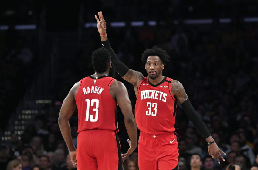 Houston Rockets Robert Covington (Photo by Kevork Djansezian/Getty Images)