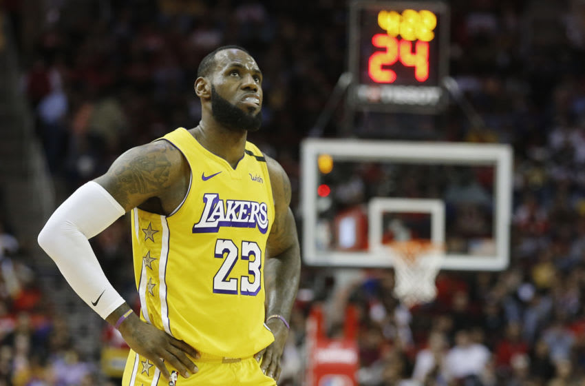 LeBron James (Photo by Bob Levey/Getty Images)