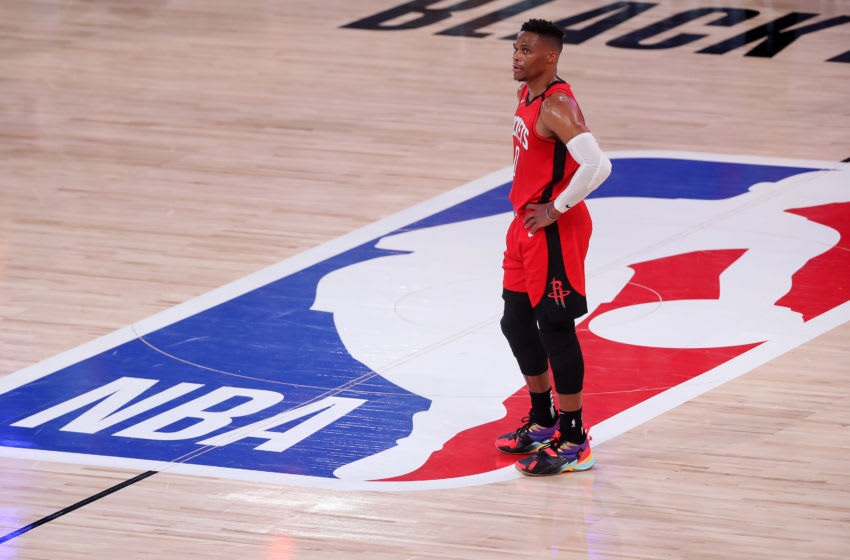 Houston Rockets Russell Westbrook (Photo by Mike Ehrmann/Getty Images)