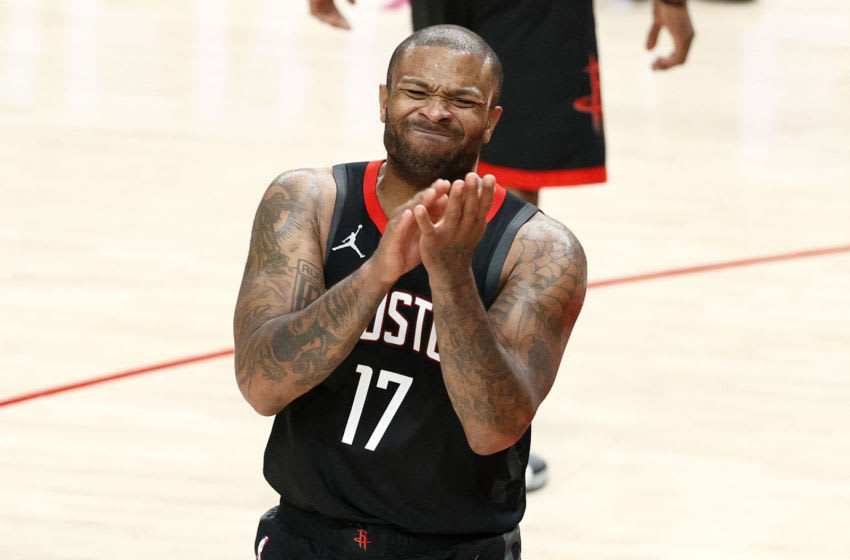 P.J. Tucker #17 of the Houston Rockets (Photo by Steph Chambers/Getty Images)