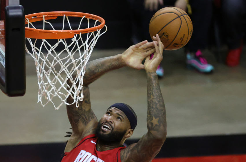 DeMarcus Cousins #15 of the Houston Rockets (Photo by Carmen Mandato/Getty Images)