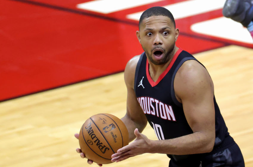 Eric Gordon #10 of the Houston Rockets (Photo by Carmen Mandato/Getty Images)
