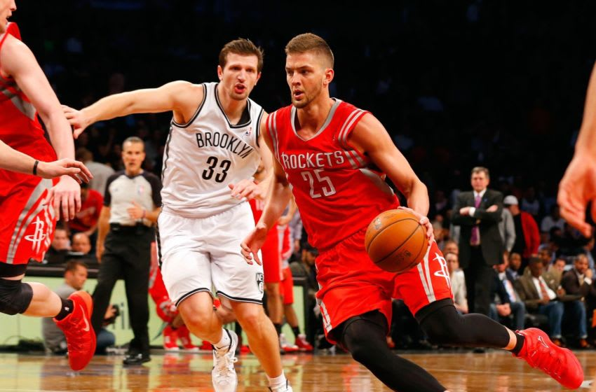 Chandler Parsons #25 of the Houston Rockets (Photo by Jim McIsaac/Getty Images)